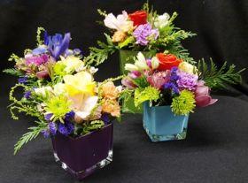 Flowering Cubes