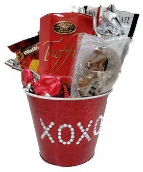 Kisses & Hugs Valentine Pail